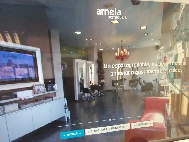 Arnela perruquers - NovaWEB